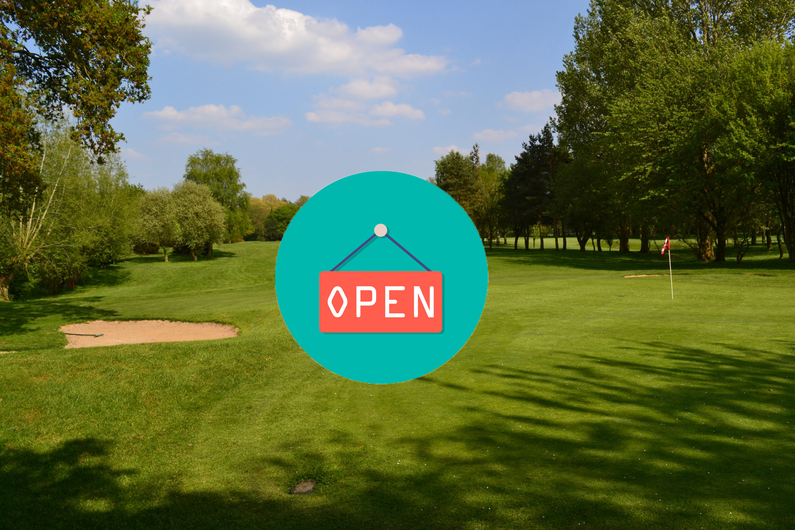 Golf Course open date